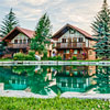 Great Northern Resort - Enhance the quality of your Montana adventure by staying in one of our affordable, beautiful, custom-built cabins/chalets, just 3 min's from the Park's west entrance.