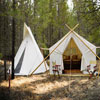 Glacier Under Canvas - Luxury Camping - Camping as it should be! Luxury tent camping minutes from Glacier National Park. We also offer tree houses & cabins! Enjoy the wild without giving up the comforts of home!