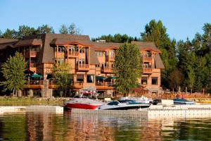 Lodge at Whitefish Lake - Hotel, Lodge & Spa :: Full-service lakefront hotel & resort provides luxury lodge suites or 2 & 3-bdrm condos year-round. On-site fine dining, plus spa, marina, winter ski packages & concierge.