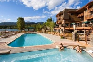 Lodge at Whitefish Lake - near the Park