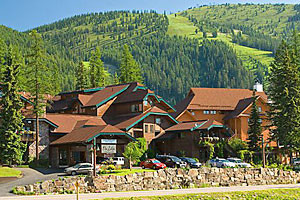 Kandahar Lodge - hotel rooms at the Mountain